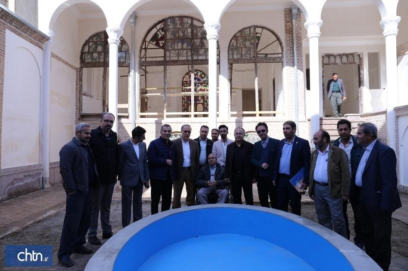 بازدید شهردار و اعضای شورای شهر تبریز از منطقه تاریخی فرهنگی تبریز