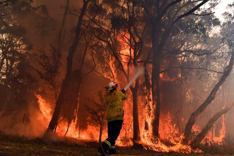 آتش سوزی در استرالیا از کنترل خارج شد