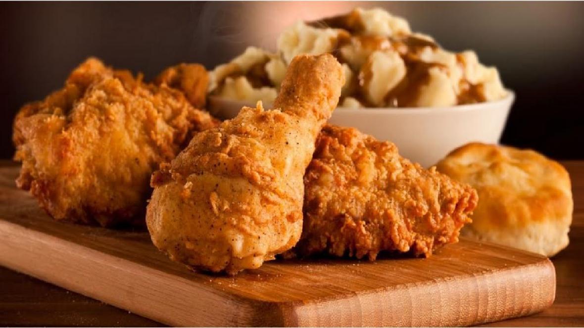آموزش پخت مرغ سوخاری رژیمی