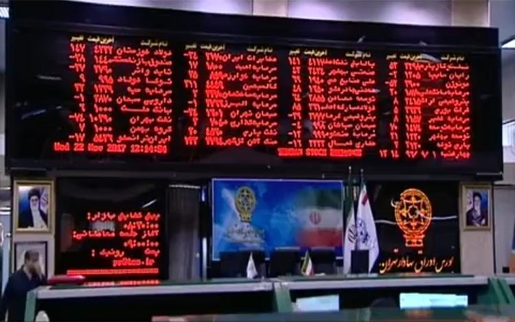 شاخص بورس تهران رکورد زد
