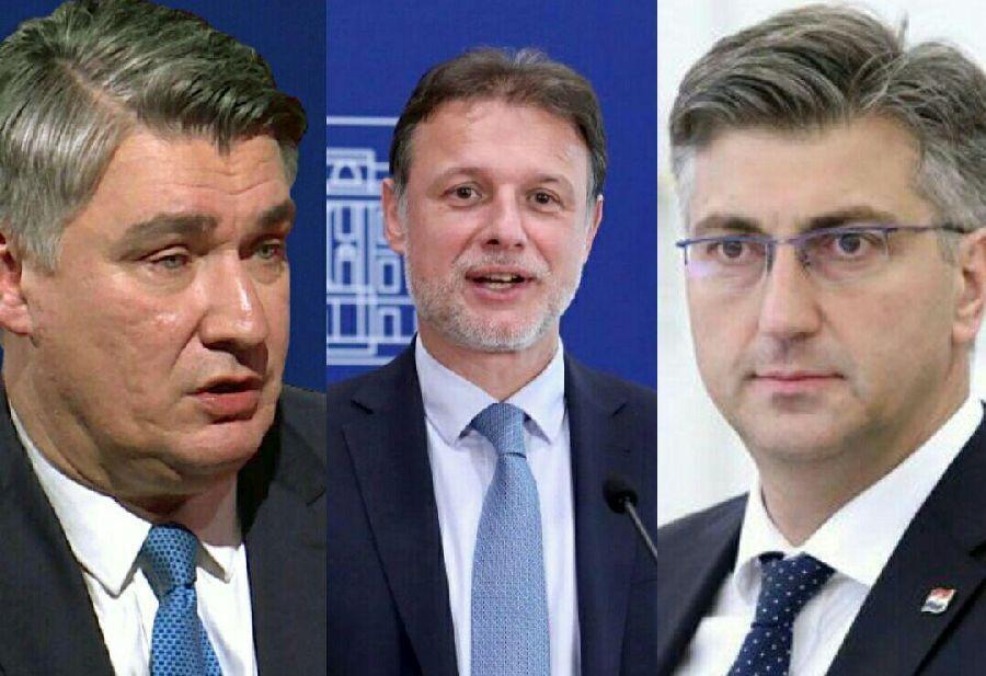 خبرنگاران رئیس جمهور و دیگر مقامات کرواسی عید فطر را به مسلمانان تبریک گفتند