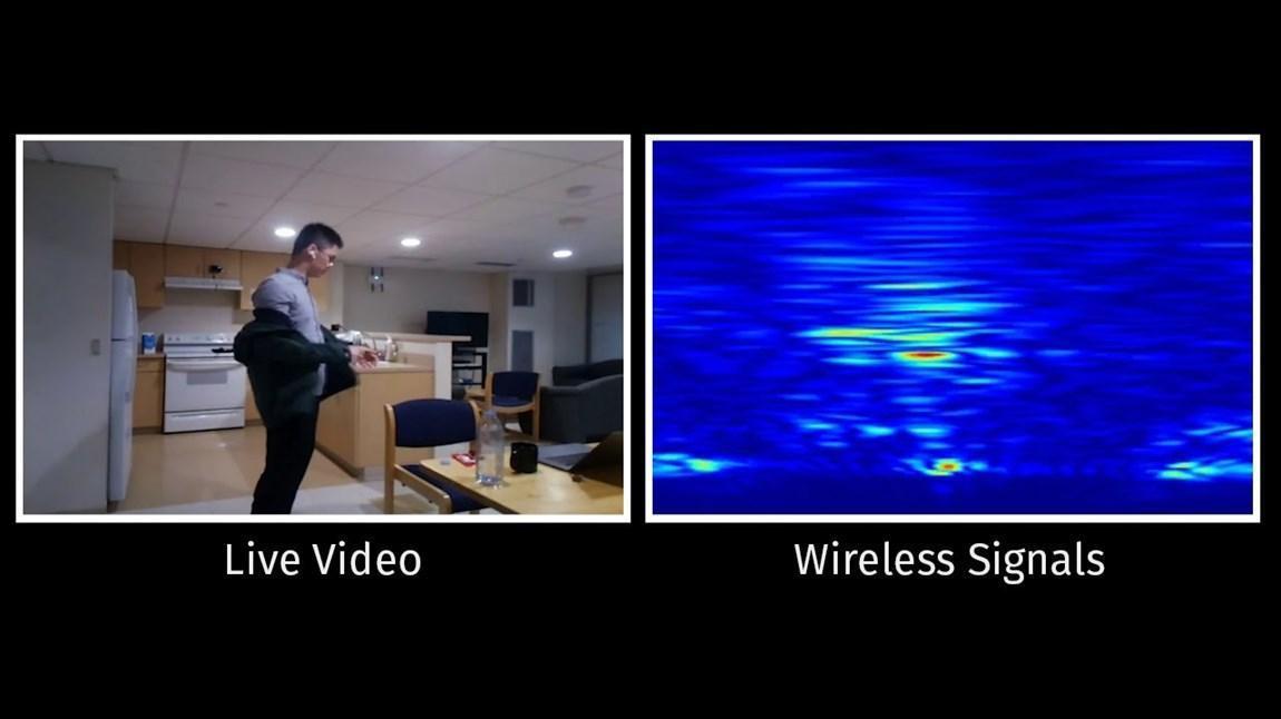 تشخیص فعالیت های انسان در خانه بدون دوربین