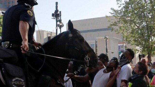 تیراندازی پلیس به مردی سیاهپوست در ویسکانسین آمریکا