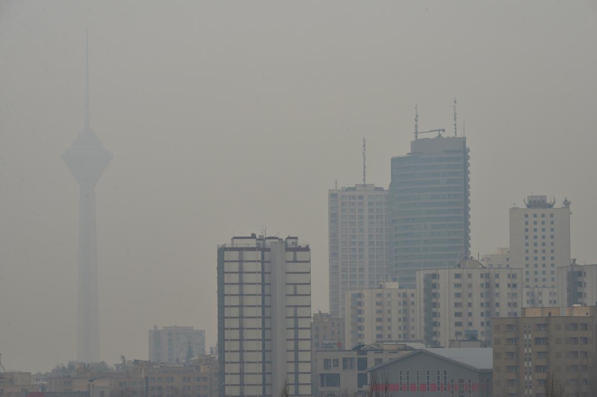 افزایش هولناک فوتی های کرونا با تشدید آلودگی هوا