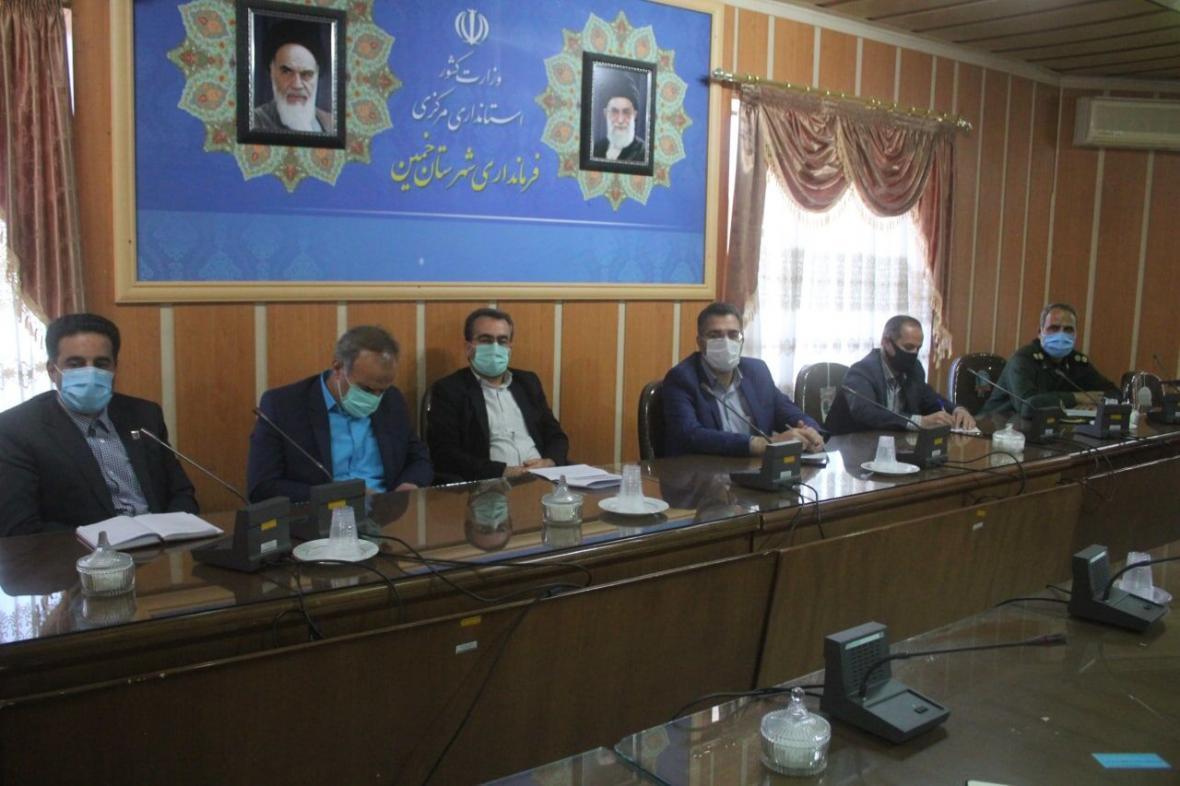 خبرنگاران دادستان خمین: اقدامات تهدید کننده سلامتی جرم است