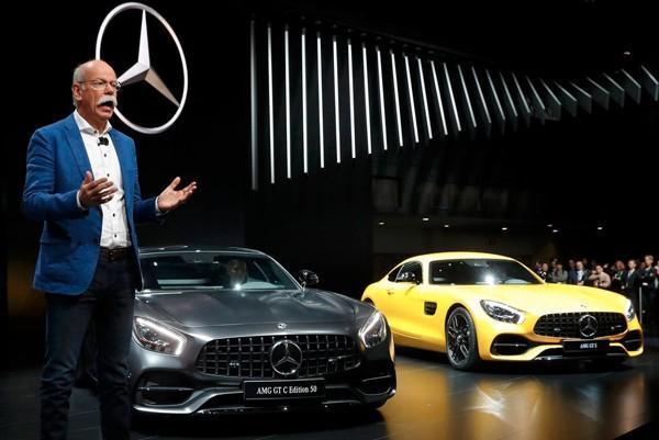 سرمایه گذاری جدید خودروسازی دایملر در چین