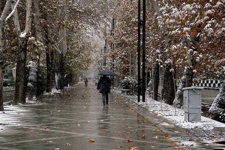 تداوم بارش برف و باران تا اواخر هفته جاری در ایران