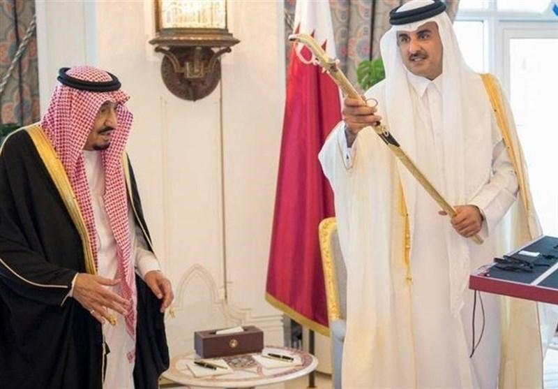 دعوت رسمی شاه سعودی برای شرکت در نشست ریاض تحویل امیر قطر شد