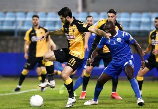 جام حذفی یونان، آاِک باز هم در خانه بازنده شد