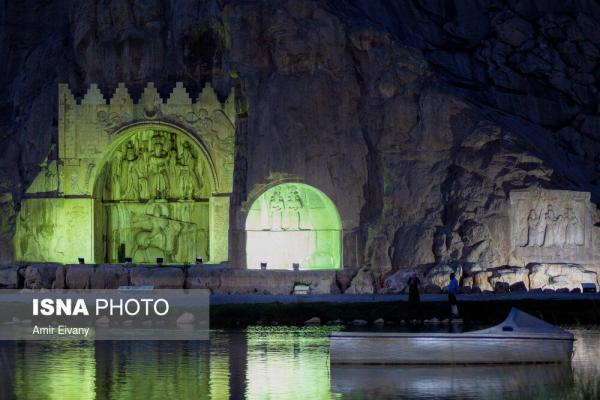 تصاویر، اینجا ایران است؛ طاق بستان