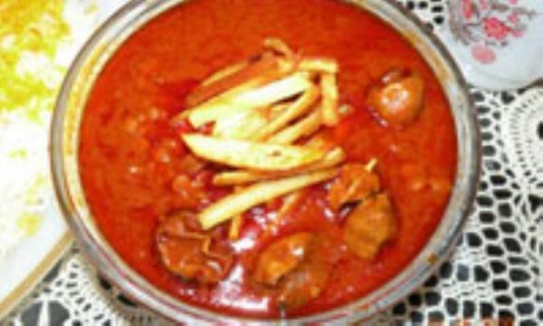 طرز پخت و ارزش غذایی قیمه نثار